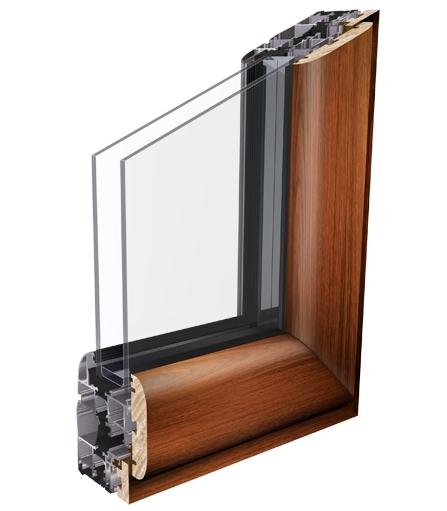 Linea curva con vetro infilare