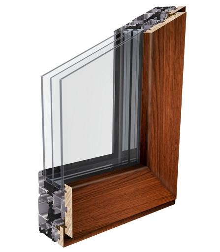 Linea retta 45° vetro infilare